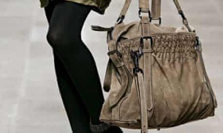A bag from Burberry Prorsum's autumn/winter 2008/9 collection