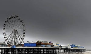 The pier in Blackpool