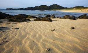 Kiloran bay's breathtaking beach on Colonsay