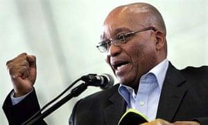 ANC leader Jacob Zuma