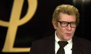 Yves Saint Laurent, who has died at 71
