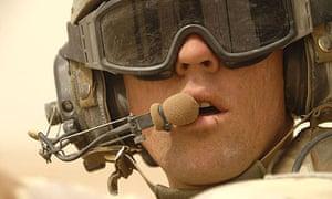 Australian troops on patrol in southern Iraq