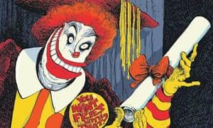 David Parkins on Ronald McDonald's degree in Big Macs