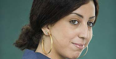 French Algerian author Faiza Guene at the Edinburgh International Book Festival