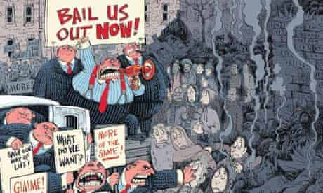 Cartoonist David Parkins on the excesses of banks, business and the super-rich
