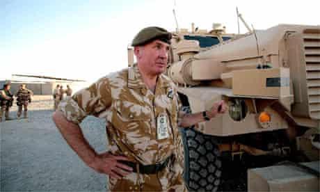 The army's chief of the general staff, Sir Richard Dannatt