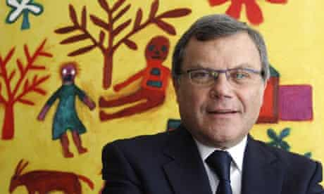 Sir Martin Sorrell, head of advertising and marketing company WPP, at his offices in London