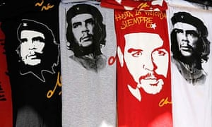 Che Guevara T-shirts for sale in Cuba
