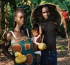 Cocoa farmers from Ghana who work with Divine chocolate