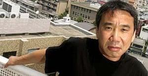 The novelist Haruki Murakami in Tokyo