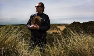 Resident Mickey Foote is seen looking out over the the vulnerable sand dunes on the Foveran Links site of special scientific interest