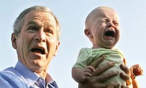George Bush In Germany
