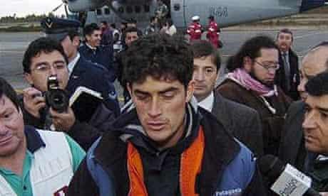 Plane crash survivor Jose Miguel Almonacid