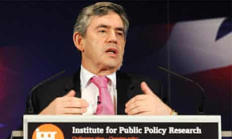 Gordon Brown said Britain must use 21st century solutions to deal with 21st century threats of global terrorism