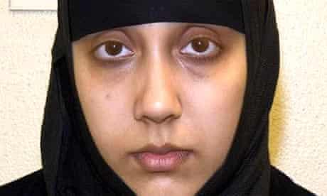 The self-styled 'lyrical terrorist', Samina Malik