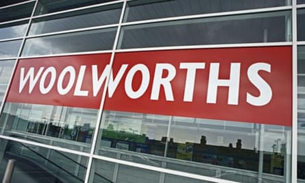 Financially, Woolworths is on its knees. Photograph: David Sillitoe