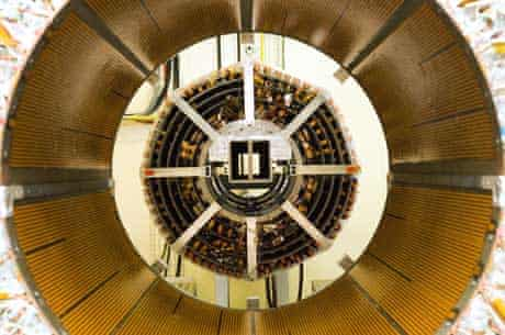 ATLAS detector, part of the LHC