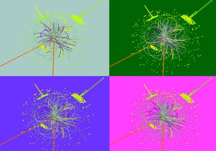 LHC: Simulation of a detection of the Higgs boson