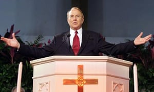 James C Dobson, founder and chairman of Focus on the Family. Photograph: Jeff Fusco/Getty Images