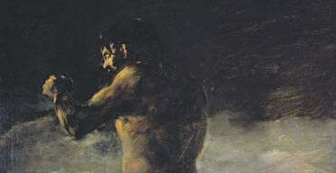 The Colossus, by Francisco de Goya