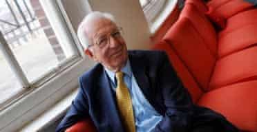 Richard Layard, the government's 'happiness tsar'. Photograph: Linda Nylind