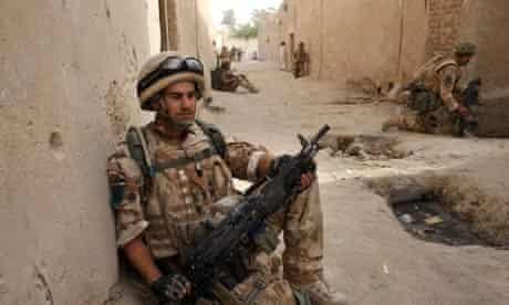 A para in Afghanistan