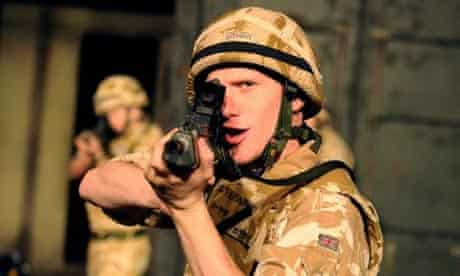 Ali Craig in Black Watch by National Theatre Of Scotland
