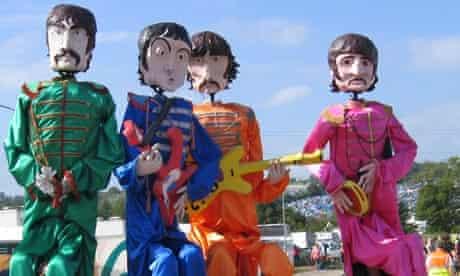 Beatles puppets