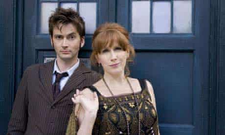 David Tennant and Catherine Tate in Dr Who