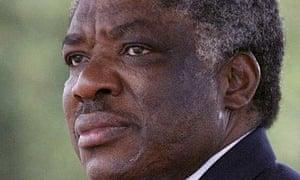 Levy Mwanawasa, the Zambian president