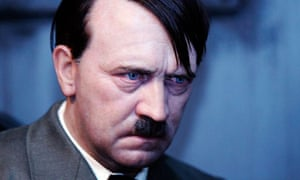 A waxwork figure of Hitler on display at Madame Tussauds