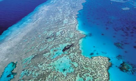 ome of Australia's environmental jewels such as the Great Barrier Reef are at risk from climate change.