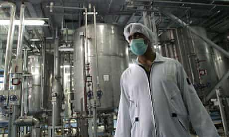 Isfahan Uranium Conversion Facilities in Iran