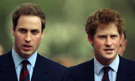 Prince Harry and Prince William arrive to the City Salute sunset pageant on May 7, 2008 in London