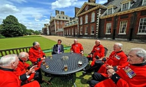 David Cameron and the Chelsea pensioners