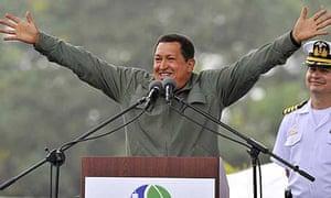 Hugo Chavez, the Venezuelan president