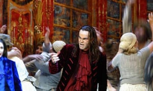 A scene from a previous production of Don Giovanni at the Royal Opera House