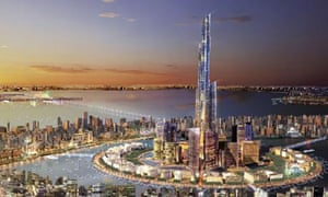 The proposed 'Silk City', planned for the head of the Gulf in Kuwait