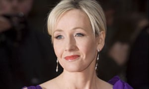 JK Rowling, author of the Harry Potter books