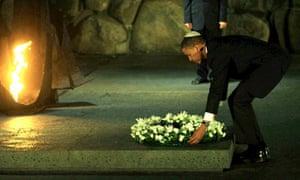 Obama visits the Yad Vashem Holocaust Museum