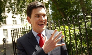 David Miliband arrives at his official residence at Carlton Gardens, London, for a meeting with the Italian foreign minister, Franco Frattini