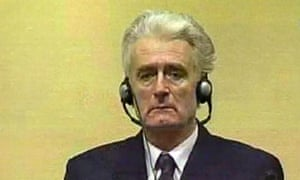 Radovan Karadzic appears for first time at UN war crimes court