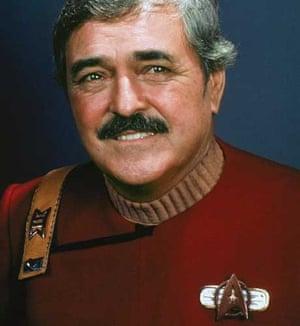 James Doohan (Scotty) of Star Trek