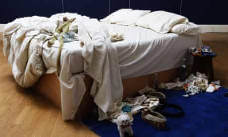 Tracey Emin. My Bed 1998 (detail)