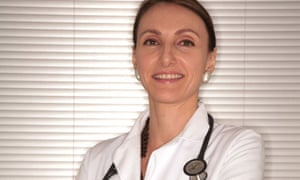 Dr Lauri Romanzi, a gynecologist, who is opening a pelvic fitness spa