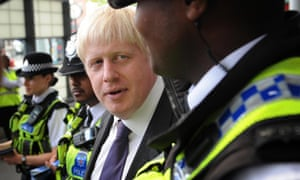 Mayor Boris Johnson meets British Transport Police Neighbourhood Policing Teams