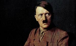 A portrait of Adolf Hitler, German leader and Nazi dictator