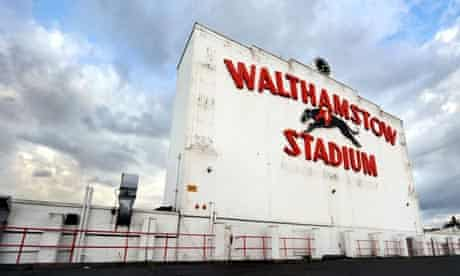 Greyhound racing track Walthamstow Stadium
