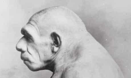 An artist's impression of Neanderthal man