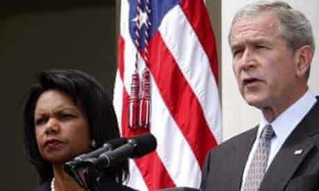 George Bush, Condoleezza Rice
